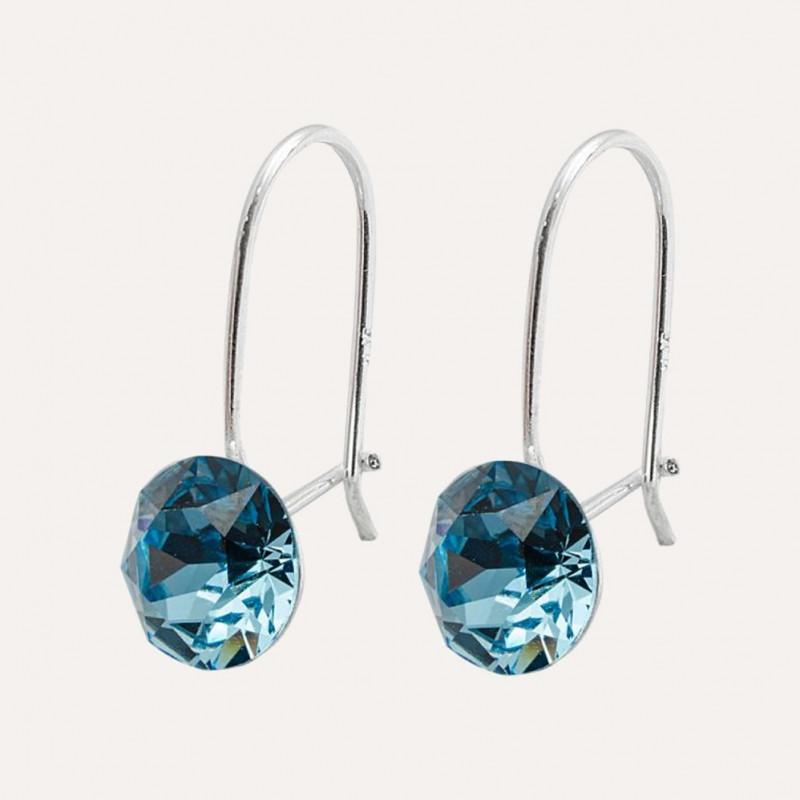 Earrings Xirius, Aquamarine