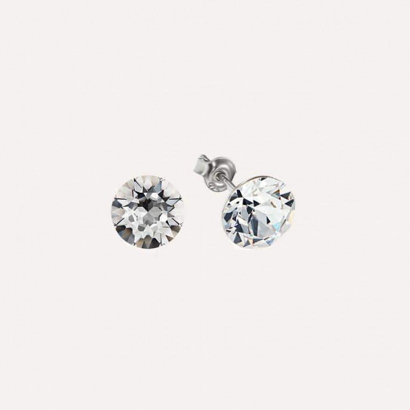 Earrings Xirius, Crystal Clear, 6 mm