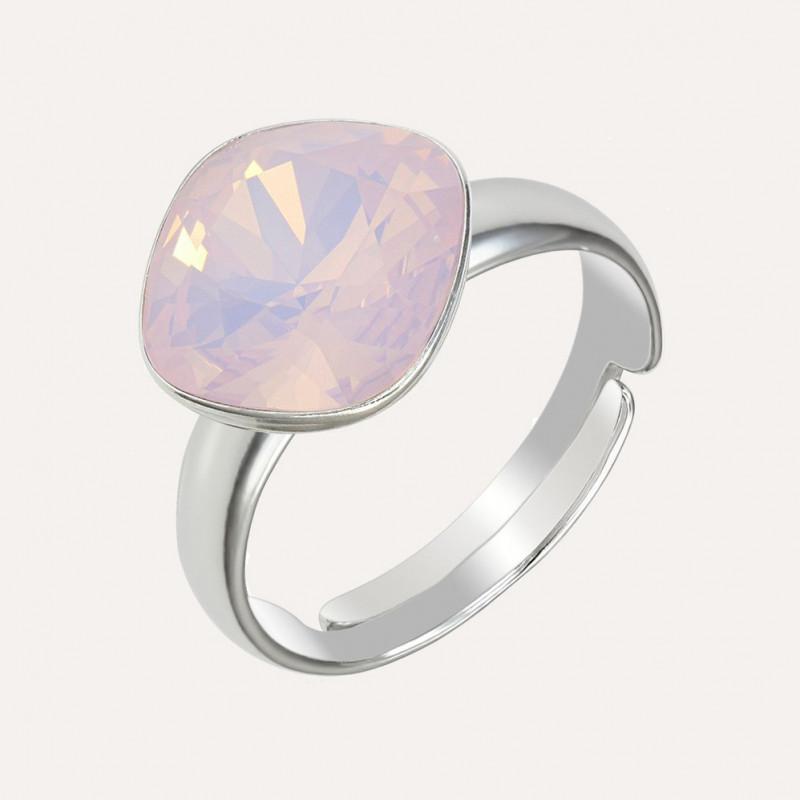 Ring Princess Square, Opal Rose