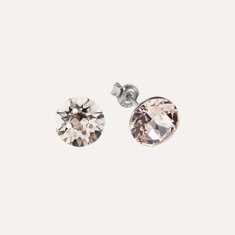 Earrings Xirius, Silk, 8 mm