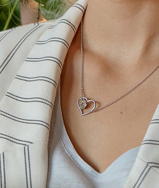 Riipus Xirius Heart, Crystal Clear