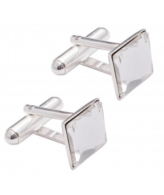Cufflinks Square, Crystal Clear