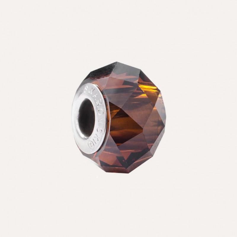 Amulett Swarovski BeCharmed Briolette 5948, Mocca