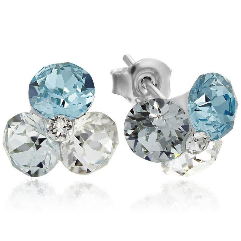Earrings TriXirius, Light Turquoise