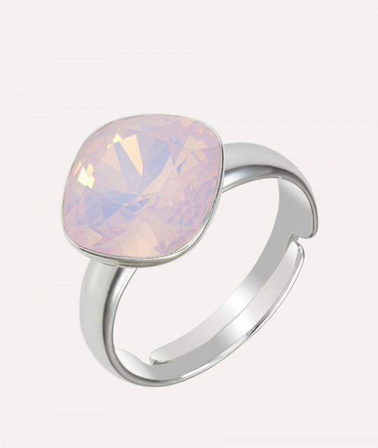 Ring Princess Square, Opal Rose