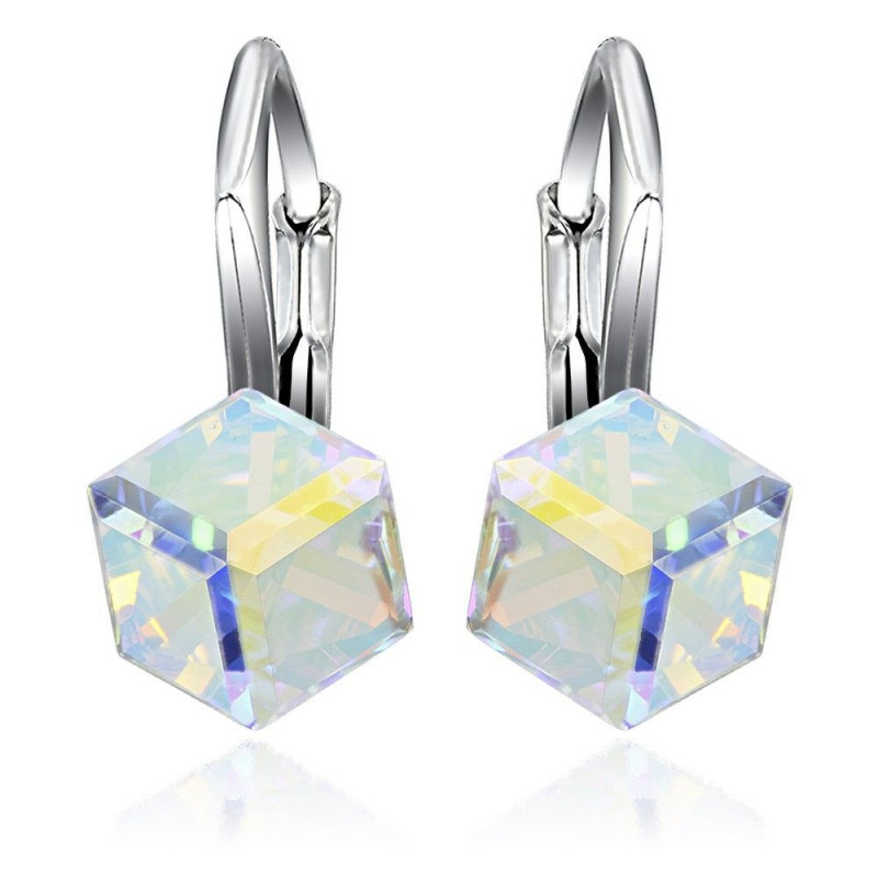 Earrings Cubic, Aurore Boreale