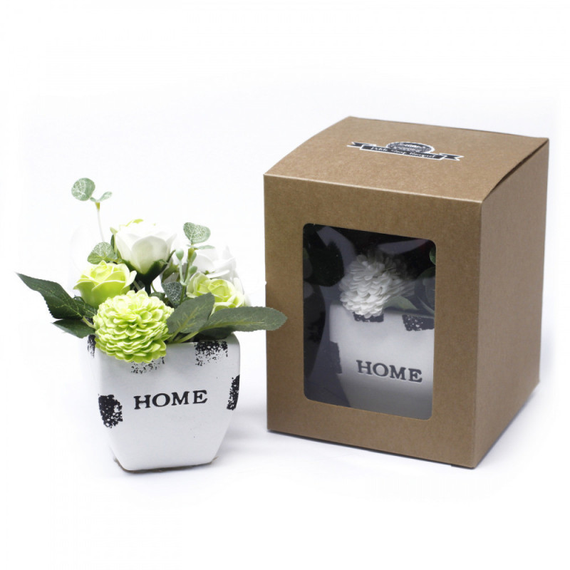 Bouquet Petite Flower Pot - Pastal Green