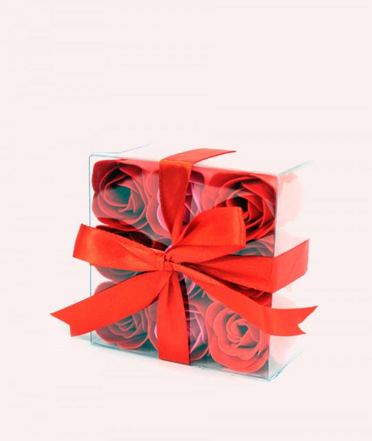 Komplekt 9 lilleseebiga, Punased roosid