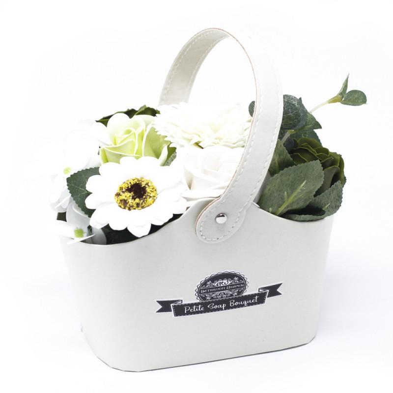Bouquet Petite Basket - Pastal Green