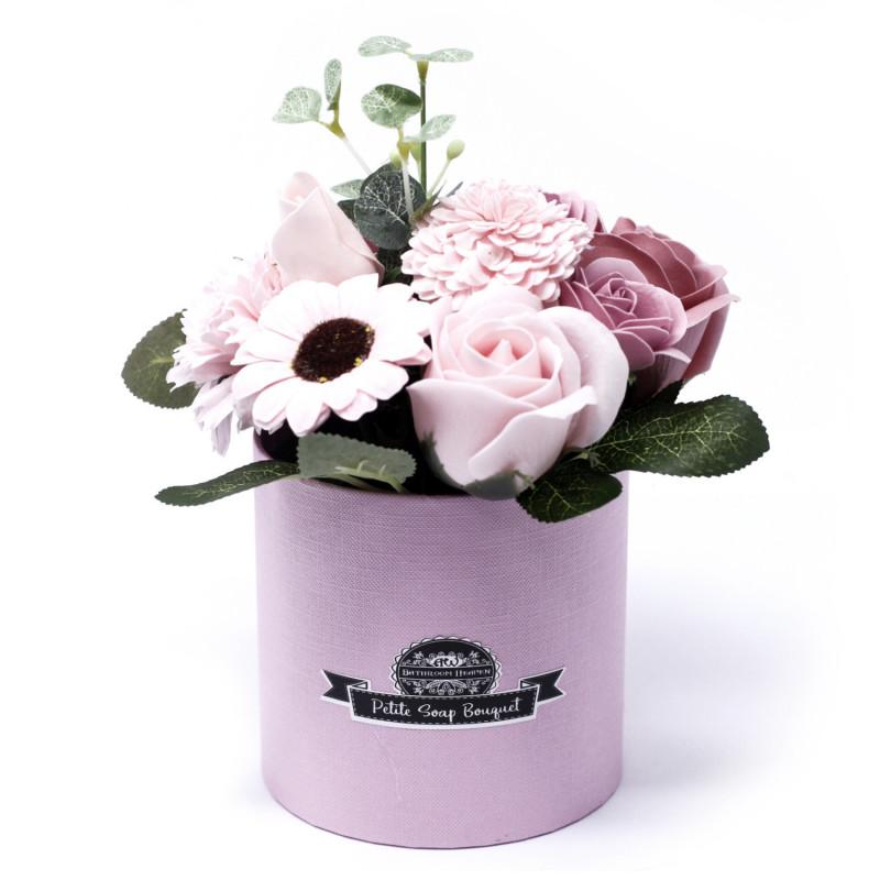 Маленький букет в коробке, Розовый