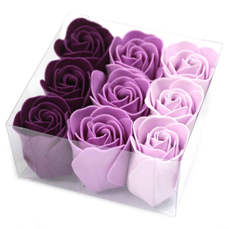 Komplekt 9 lilleseebiga, Lavendel roosid