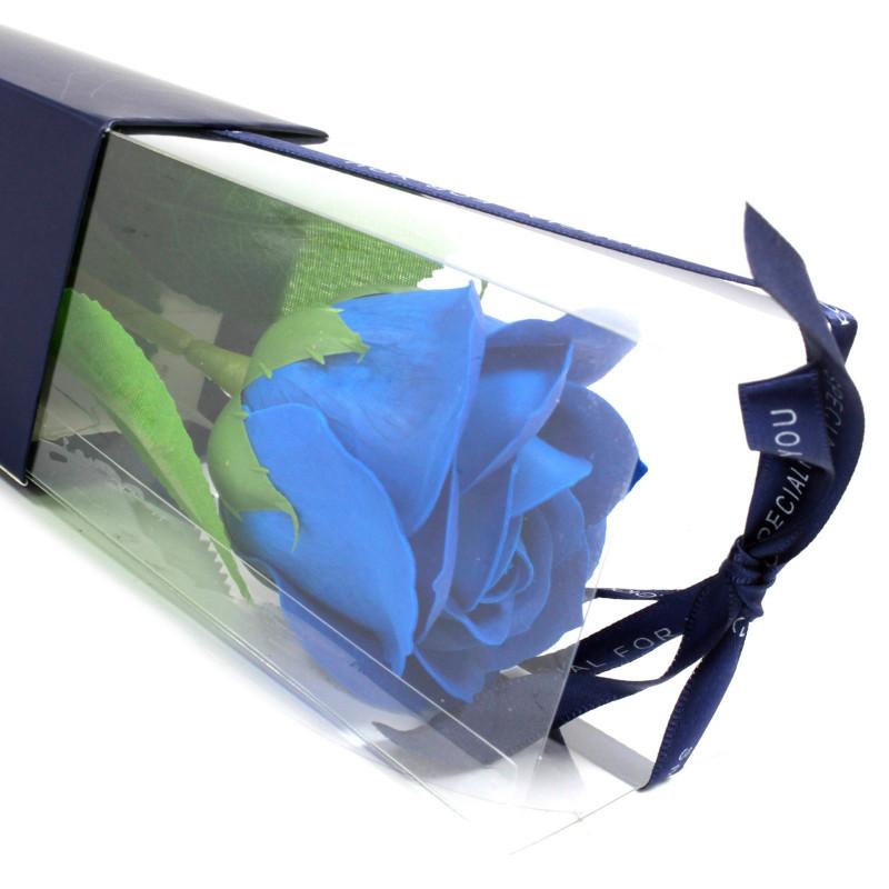 Üksik roos, Sinine