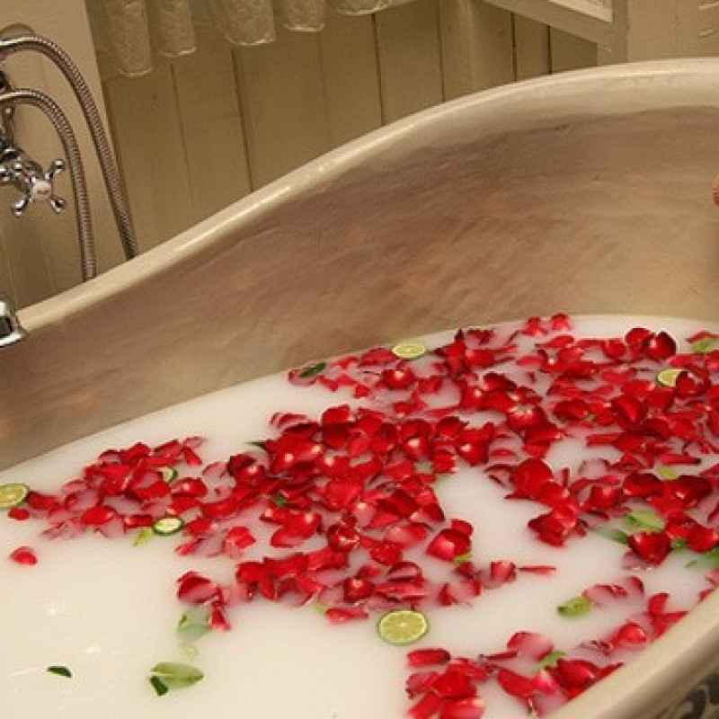 Komplekt 24 lilleseebiga, Punased roosid