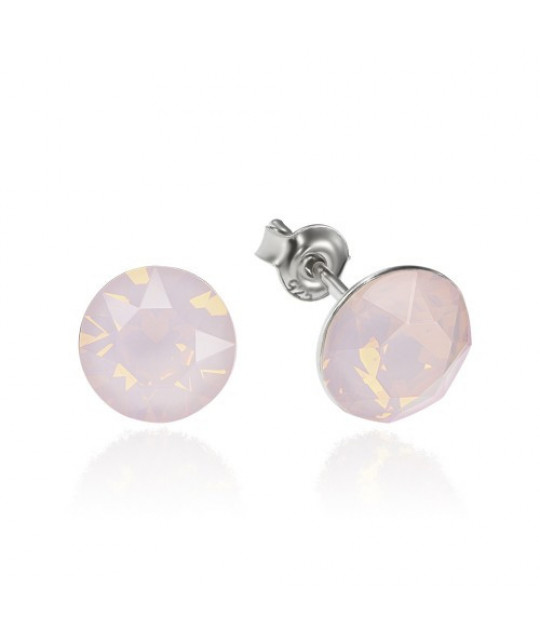 Earrings Xirius, Opal Rose, 8 mm