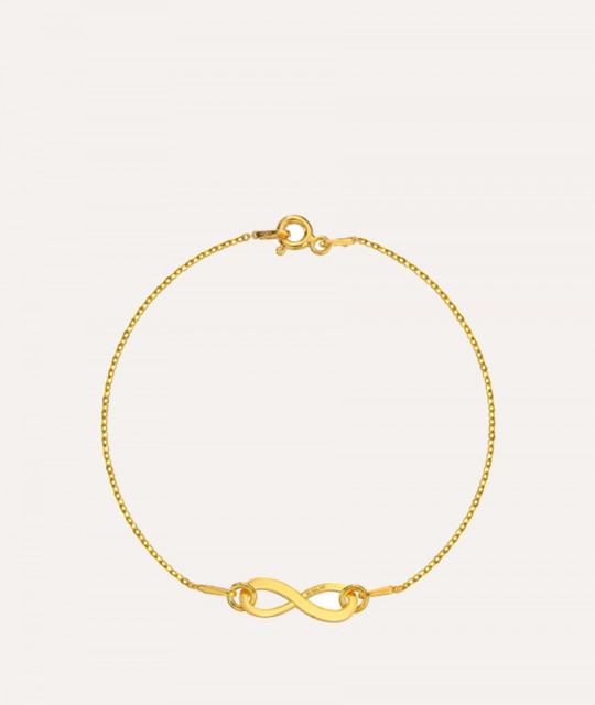 Bracelet Infinity, Gold