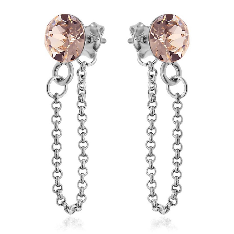 Earrings Xirius Chain, Silk