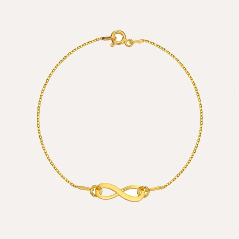 Браслет Infinity, Золото