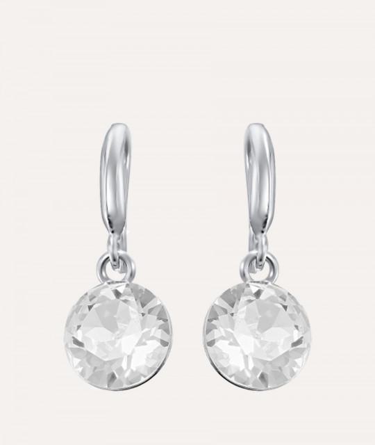 Kõrvarõngad Xirius, Crystal Clear, 10 mm