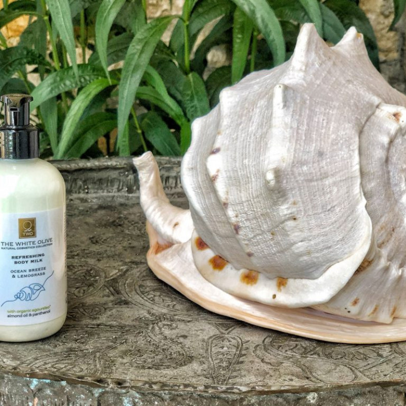 Hydrating Body Milk – Ocean breeze & Lemongrass, 100 ml