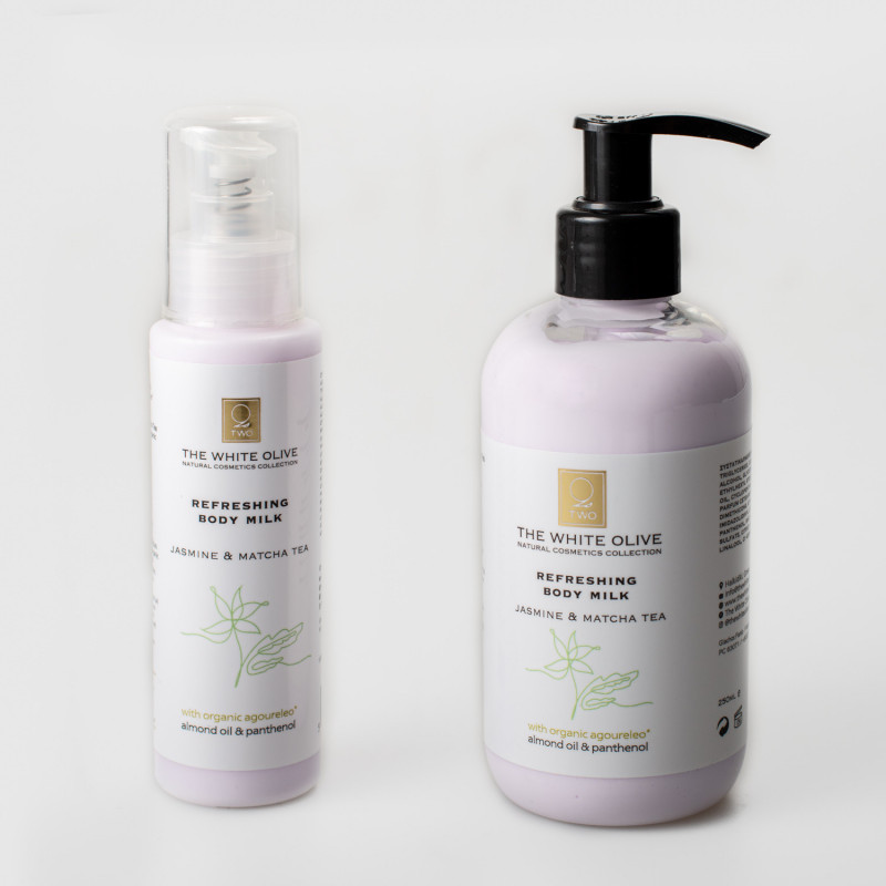 Hydrating Body Milk – Jasmin & Matcha Tea, 250 ml