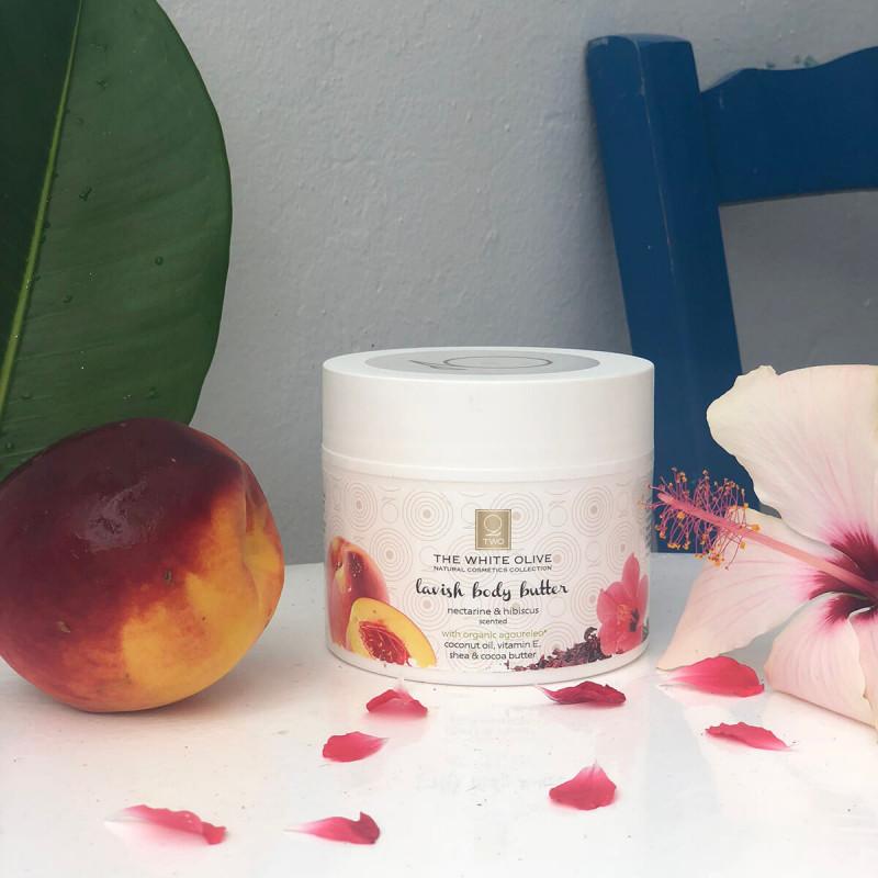 LAVISH BODY BUTTER nectarine & hibiscus