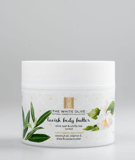 LAVISH BODY BUTTER olive leaf & white tea