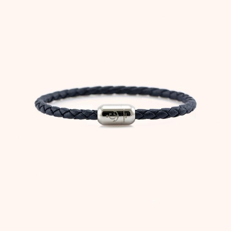 Magnetic leather bracelet CNJ # 10032 - 20 cm