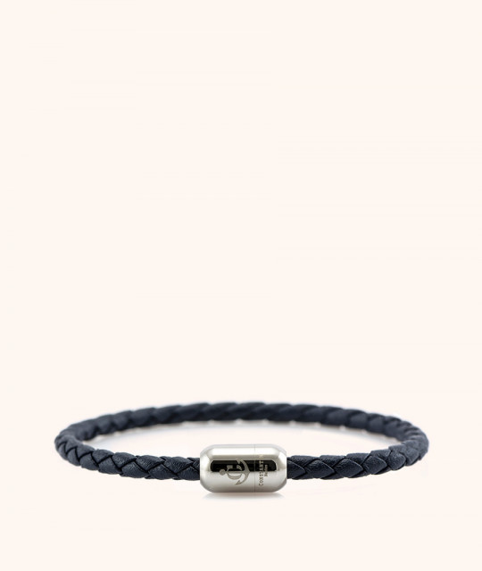 Magnetic leather bracelet CNJ # 10032 - 20 cm