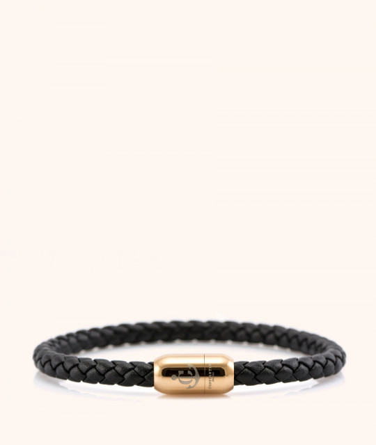 Magnetic leather bracelet JACK TAR CNJ # 10043 - 20 cm