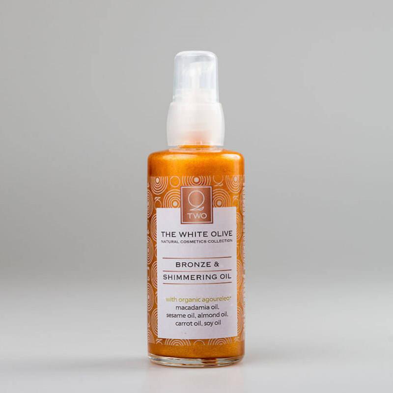 Kehaõli sädelevate osakestega (Pronks), 100 ml
