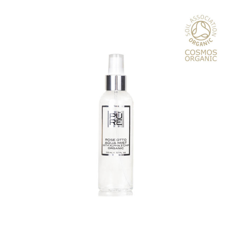 Organic Rose Otto Aqua Mist with Alpha 3