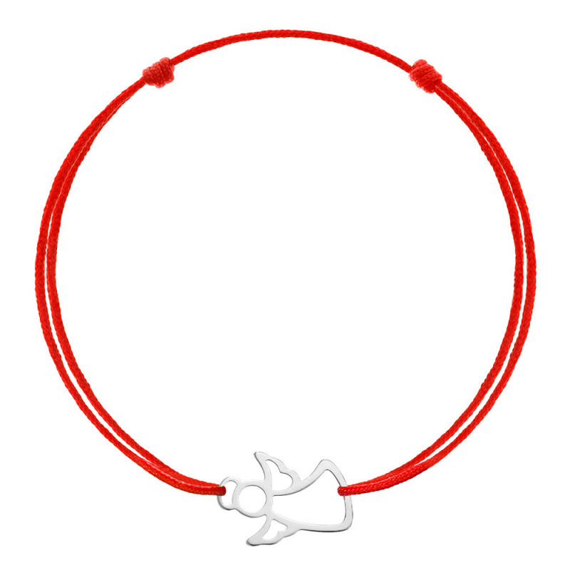 Red kabbalah Angel, Silver