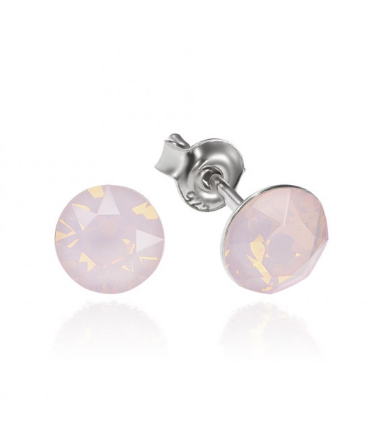 Earrings Xirius, Opal Rose, 6 mm