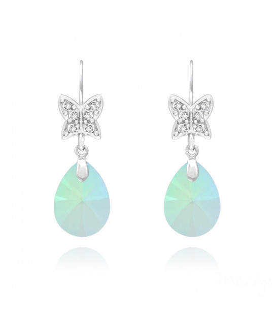 Earrings Butterfly Pear Xilion, Paradise Shine