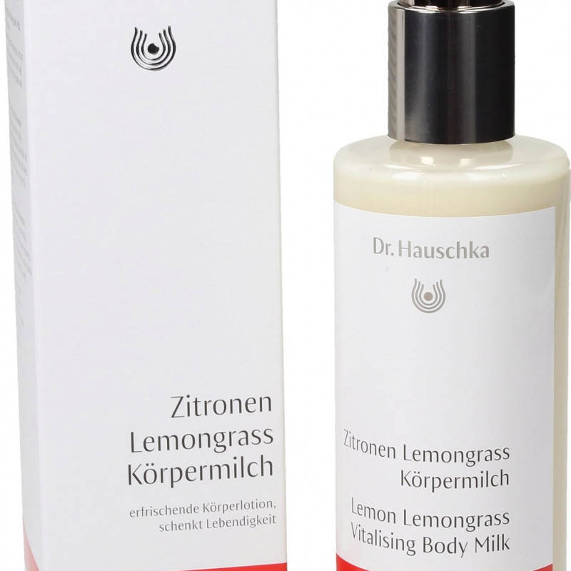 Dr. Hauschka Lemon Lemongrass Vitalising Body Milk, 145 ml
