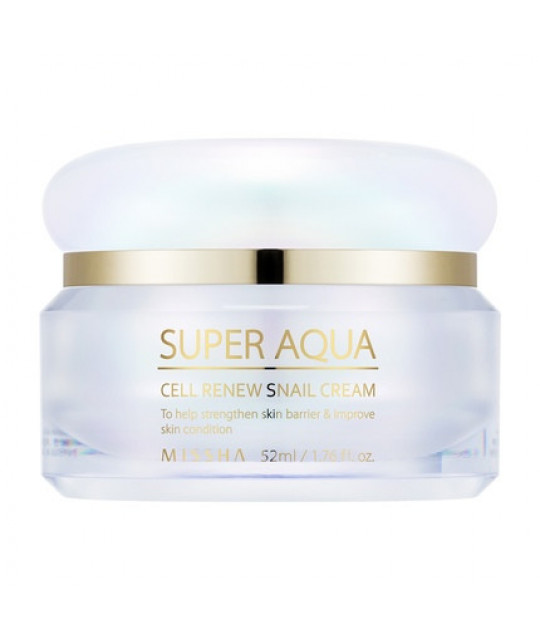 "Missha Taastav Teokreem ""Super Aqua Cell Renew Snail Cream"", 52 ml"