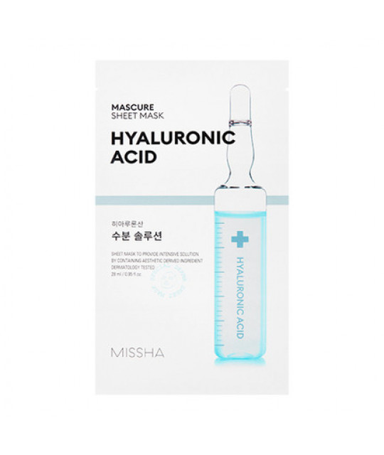 MIissha Mascure Hydra Solution Sheet Mask, 27 ml