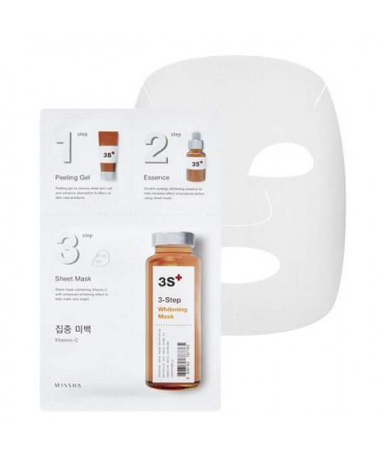 "Missha 3-Step Mask ""Whitening"", 15 g+22 g+1.5 g"