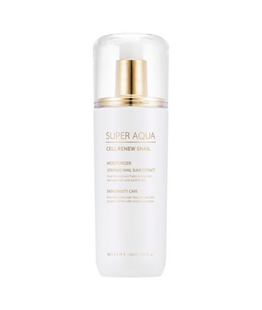 "Missha Taastav Teolosjoon ""Super Aqua Cell Renew Snail"", 130 ml"