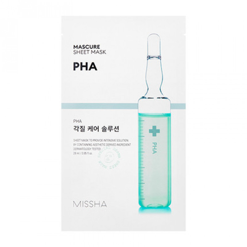 Missha Mascure Peeling Solution Sheet Mask, 27 ml