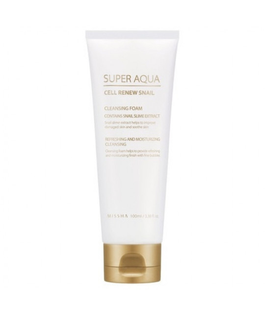"Missha Puhastav Vaht ""Super Aqua Cell Renew Snail"", 100 ml"