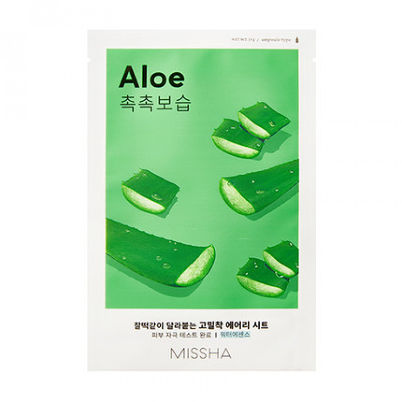 MISSHA Airy Fit Sheet Mask (Aloe)