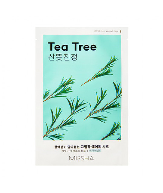 "Missha Airy Fit Sheet Mask ""Tea Tree"", 19 g"