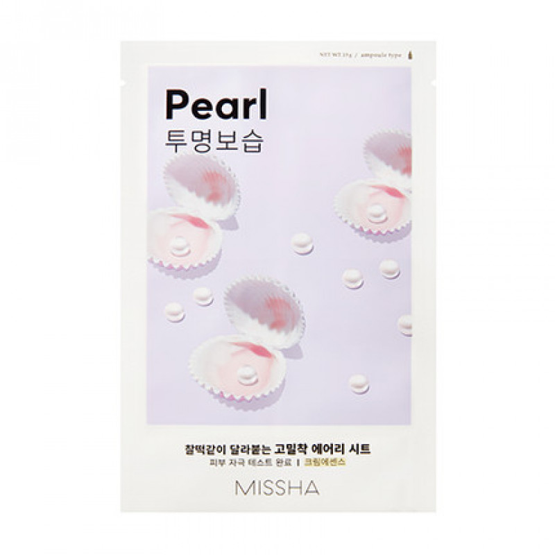 "Missha Airy Fit Sheet Mask ""Pearl"", 19 g"