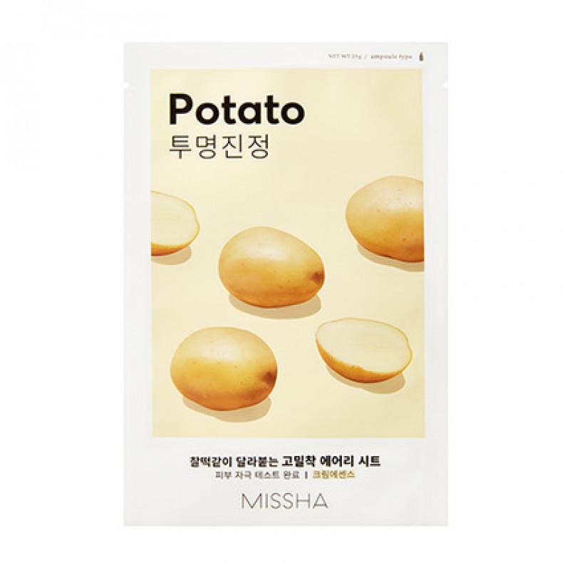 """Missha Kirgastav kangasmask """"Potato"""", 19 g"""