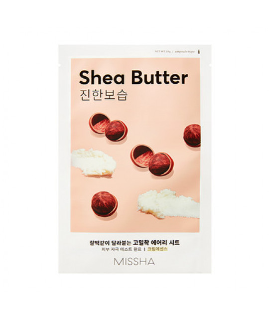 "Missha Airy Fit Sheet Mask ""Shea Butter"", 19 g"