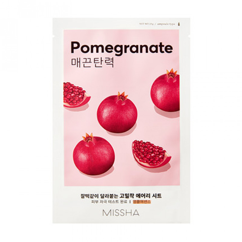 "Missha Airy Fit Sheet Mask ""Pomegranate"", 19 g"