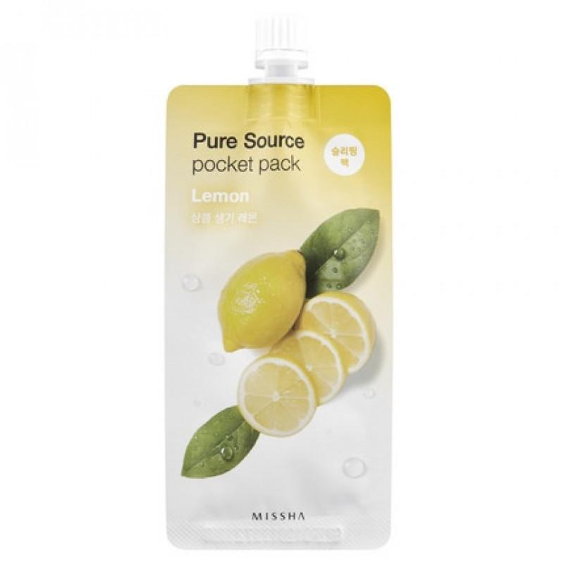 "Missha Pure Source Pocket Pack ""Lemon"", 10 ml"