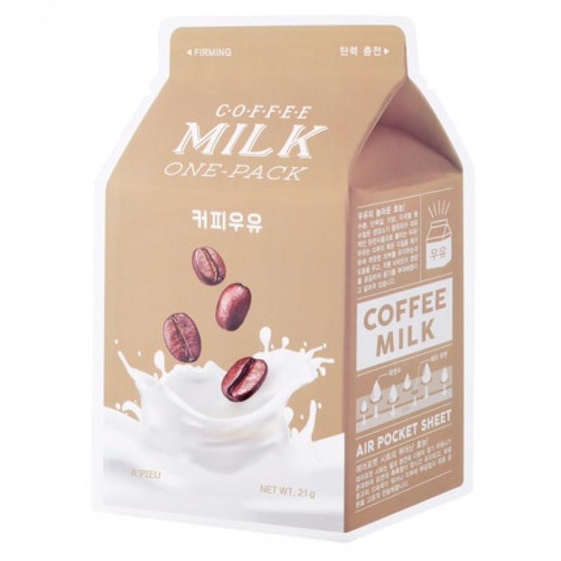 """A'pieu Молочная маска для лица """"Coffee Milk"""", 21 г"""