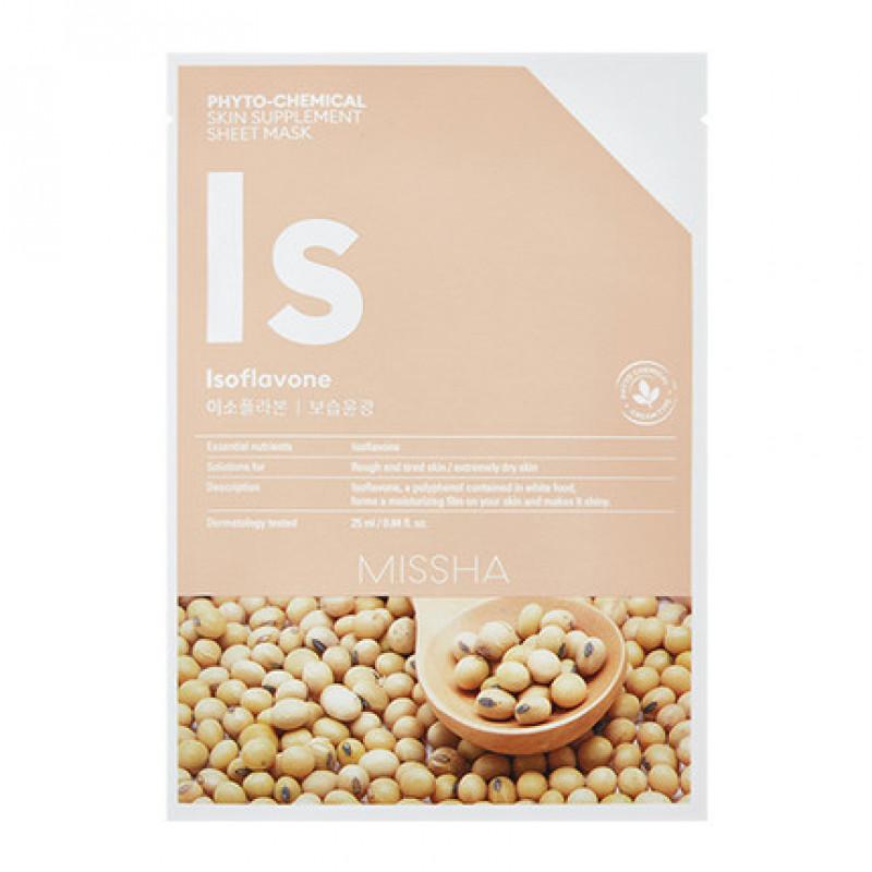 MISSHA Phytochemical Skin Supplement Sheet Mask (Isoflavone/Deep Moisture)